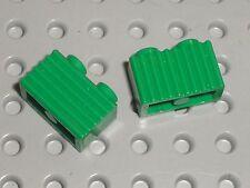 2 x LEGO Green bricks ref 2877 / set 7898 10173 4512 4552 4511 10157 4561 4560..