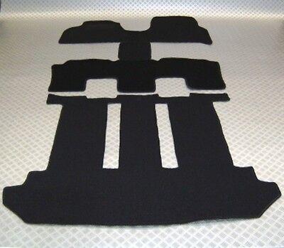 Passform-Velours-Fußmatten für Lancia Phedra komplett inkl. Kofferraum 2002-2010