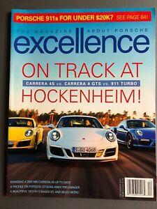 2001 Porsche Excellence Magazine #107 December 2001 RARE! Awesome L@@K