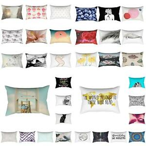 Am-Rectangle-Animal-Floral-Home-Sofa-Bed-Car-Throw-Pillow-Case-Cushion-Cover-Gr