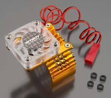 Integy Motor Heatsink w/ Cooling Fan Slash 2WD / Rustler / Stampede T8074GOLD