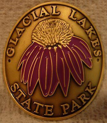 Glacial Lakes State Park MN new badge mount stocknagel hiking medallion G0200