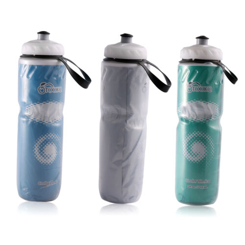 Portable Outdoor Insulated Bicycle Bike Cycling Sport Water Bottle 710ml KA Fahrradzubehör