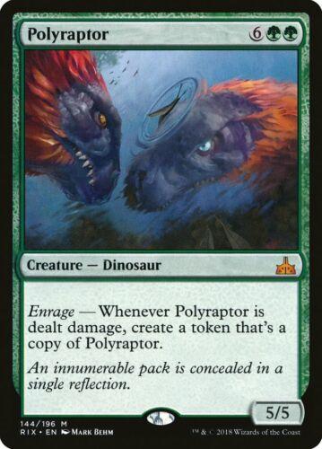 MTG polyraptor EXC-poliraptor-Rix-Magic