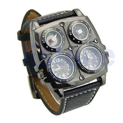 New Luxury Sport Military Quartz Dial Men Stainless Steel Wrist Watch