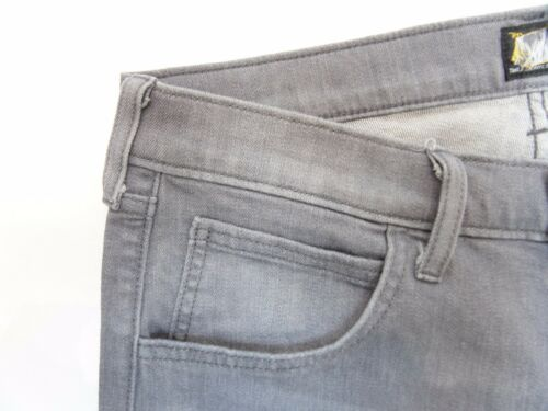 Rrp Lee Daren dritti stretch Grigio Jeans L157 Mens £ Slim 85 secondi TU60xx1