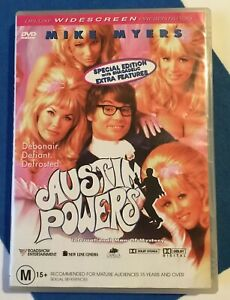 Austin-Powers-Man-of-Mystery-Retro-Movie-DVD-classic-Comedy-Mike-Myers-M15