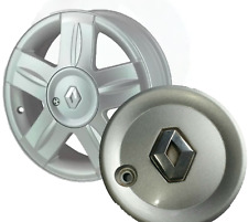A GENUINE RENAULT CLIO MK2 1999-05 ALLOY WHEEL HUB CAP TRIM ALIUM  8200108993