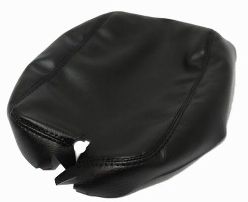 Real Leather Black Center Console Lid Armrest Cover Fits 07-09 Lexus ES350