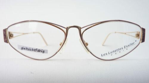 Brillenfassung M Schmetterling Damen Gold Metallgestell Größe Essilor Brillen aOHwfdndq