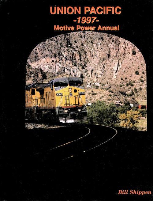 Union Pacific 1997 Motivo Potenza Annual: Piuma River Canyon,la Export Terminale