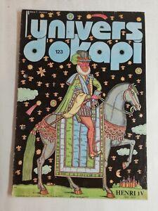 N478 Rivista Universo Okapi N° 123 Henri IV, 1553-1610 Uno Importante, di Amou