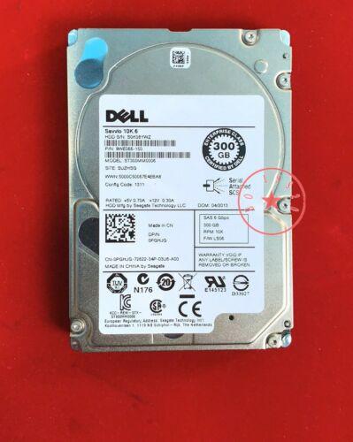 DELL PGHJG  ST300MM0006 300GB 10K.6  0PGHJG  SAS HARD DRIVE