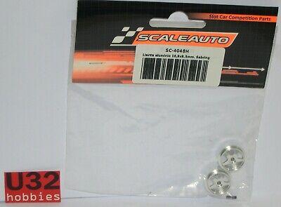 Elektrisches Spielzeug Kinderrennbahnen Scaleauto Sc-4048h Felge 16.9x8.2mm Sebring 1.2 Gr Aluminium Achse 2.38mm