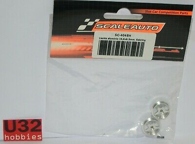 Scaleauto Sc-4048h Felge 16.9x8.2mm Sebring 1.2 Gr Spielzeug Aluminium Achse 2.38mm