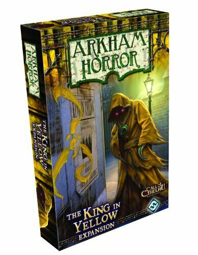 ahorre 60% de descuento Arkham Arkham Arkham Horror El Rey en amarillo expansión nuevo. Sellado De Fábrica  precios mas bajos