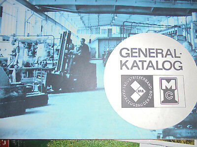 22218 Veb Motorenwerk Cunewalde General Katalog Für Dieselmotoren Vd 8/8-2 1969 To Win A High Admiration And Is Widely Trusted At Home And Abroad.