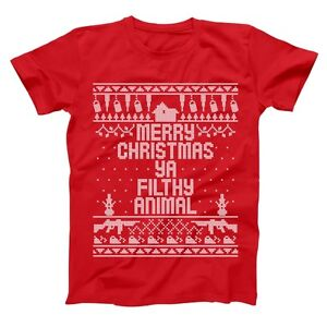 Home Merry Christmas Ya Filthy Animal Funny Xmas Sweater Design Red Mens T Shirt Ebay,Graphic Design School Los Angeles