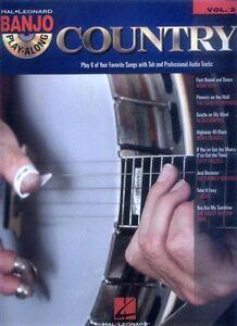 Banjo-Play-Along-2-Country-Songbook-Tabulatur-Tab-mit-CD