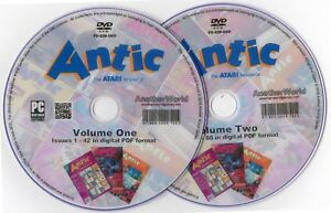 ANTIC-Magazine-Collection-on-Disk-ALL-ISSUES-XL-XE-400-800-2600-7800-XEGS-Games