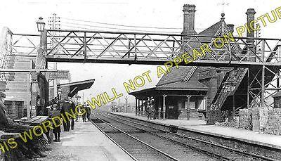 Collins Green 4 Newton-le-Willows L/&NWR. Earlestown Railway Station Photo