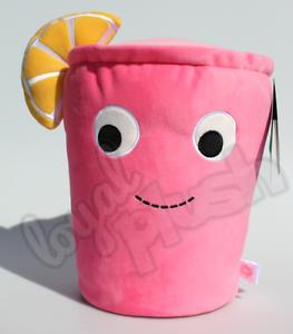 "35cm Kidrobot Yummy World Lemmy /""limonada/"" peluche Soft trago con limón XL GR"