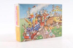 Ancien-Puzzle-Avec-300-Pieces-Motif-Oldtimer-Chemin-de-Fer-Ancien-Ne-Vintage