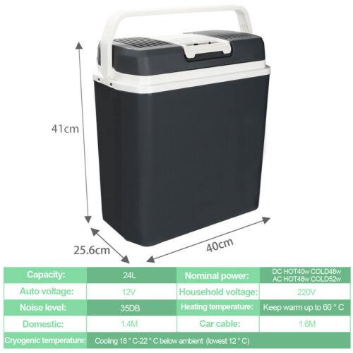 Kühlbox Elektrokühlbox Thermoelektrische Warmhaltebox Coolbox Essen 24L 32L 40L