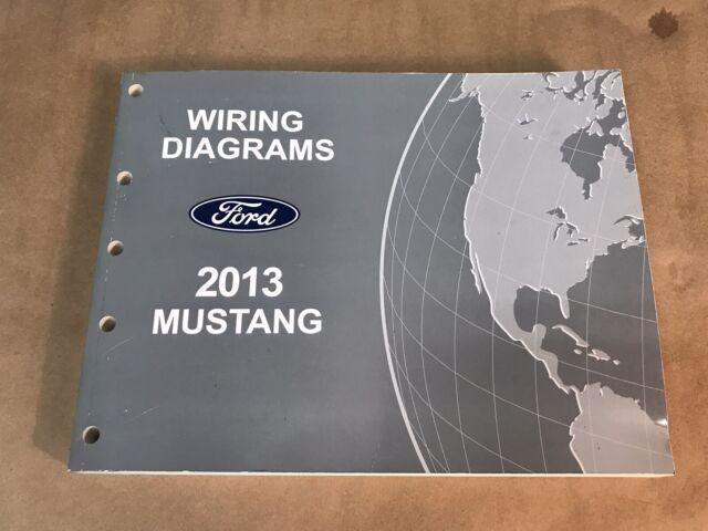 2013 Oem Ford Mustang Wiring Diagrams Shop Manual