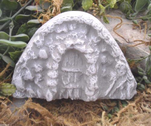 Fairy door mold plastic plaster concrete casting mould