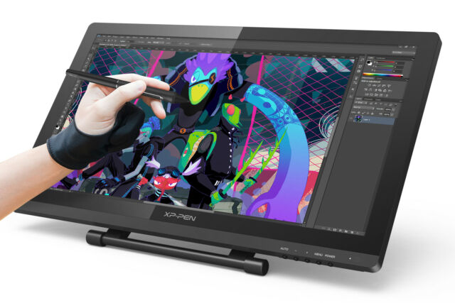 xp pen artist22 pro ips drawing tablet graphics pen display 22 8192