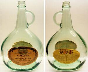 1968-73-Almaden-Mountain-Nectar-Wine-Bottle-Rare-w-Labels