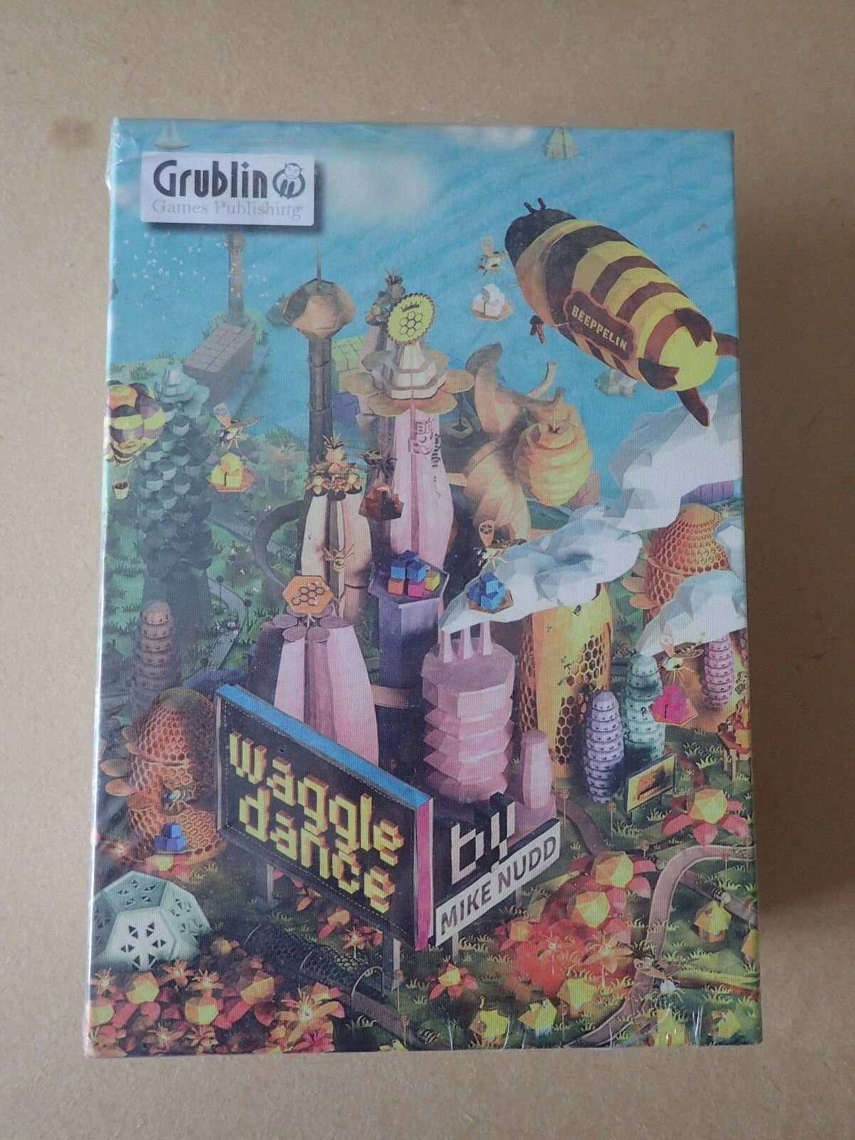 Waggle Dance - Board Game Game Game - Grublin Games Sealed cards Beste game family fun 1166fd