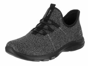 Scarpa 8 5 Galaxies casual Women's Donne Skechers air nera On E4q67