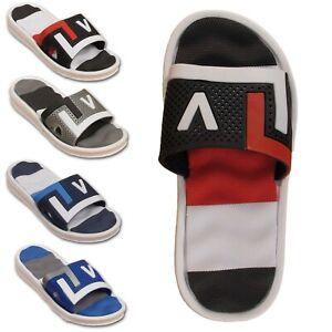 Boys Girls Childrens Kids Sliders Summer Sports Slip On Flip Flops Mules Sandals