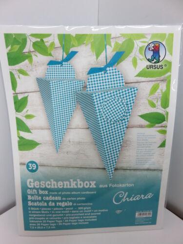 Creativsets Ursus Geschenkbox ** Kommunion/Firmung/Konfirmation* Geburtstag *