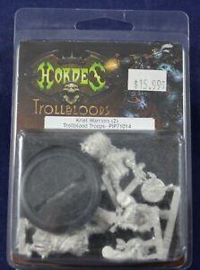 Hordes-Trollbloods-Kriel-Warriors-2-Trollblood-Troops-PIP-71014-Metal-JJ20