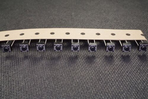 Lot of 17 TL59AF160Q E-Switch Tactile Switch OFF MOM SPST-NO 50mA 12VDC 2 Pin