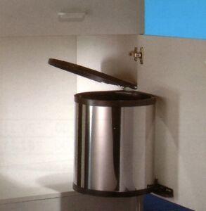 wesco einbau abfallsammler rondo 3 edelstahl 15 liter m lleimer abfalleimer ebay. Black Bedroom Furniture Sets. Home Design Ideas