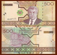 Colourful Banknote art set of 4 UNC Turkmenistan 2005 /> 50//100// 500//1000 Manat