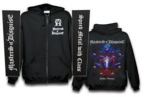 MASTERS-OF-DISGUISE-Alpha-Omega-Kaputzenjacke-Zipper-size-XXL-Pocketprint