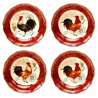 Certified International Tuscan Rooster Soup/cereal Bowls, 8.75-inch, Assorted De on sale