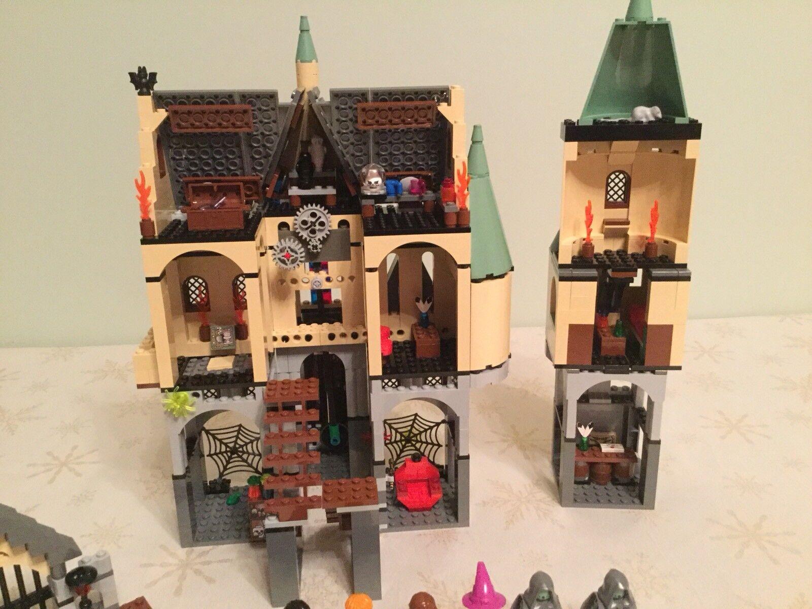 Lego Harry Potter Potter Potter 4757 Hogwarts Castle (2nd edition) 100%Complete+Instruction 685615
