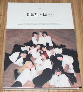 2nd Mini Album # Album+Folded Poster+Extra Photocards Set Limited A ver. Blockberry Creative Monthly Girl LOONA