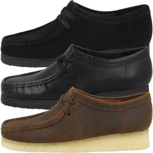 Clarks Wallabee Women Schuhe Damen Halbschuhe Schnürschuhe Mokassin Sneaker