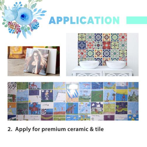 Hemudu 110 Sheets 8.5x11 Dye Sublimation Heat Transfer Paper Cotton Polyester