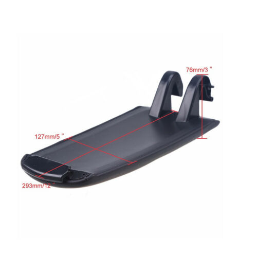 Car Armrest Center Console Lid Cover fit for Audi A4 B6 B7 Black S4 High