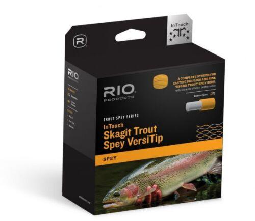NEW RIO INTOUCH SKAGIT TROUT SPEY VERSITIP #4 WT 325 GRAIN COMPLETE LINE KIT