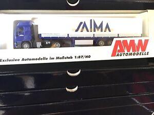 AWM-AMW-50456-motrice-IVECO-EUROSTAR-con-semirimorchio-SAIMA-1-87