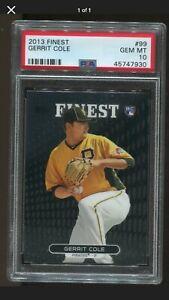 2013-Topps-Finest-99-Gerrit-Cole-PSA-10-GEM-MT-Yankees-Pirates-RC-Rookie
